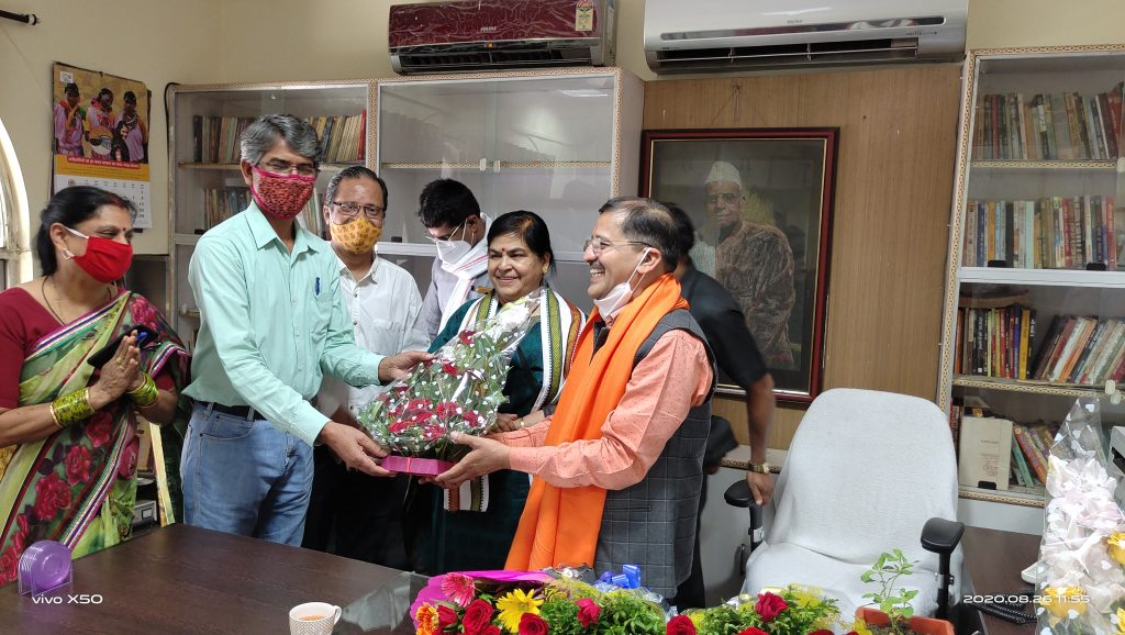 Dr. Vikas Dave Sahitya Academy Director